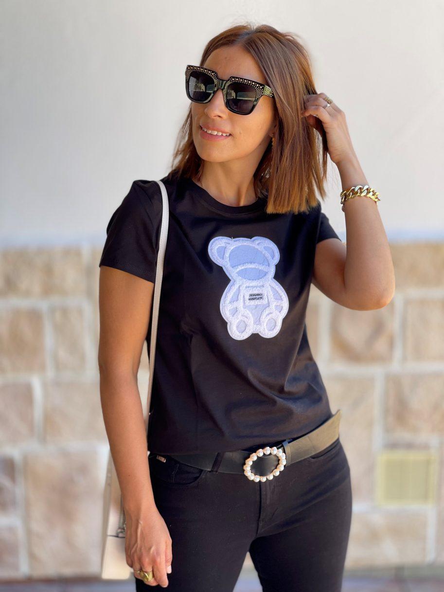 "Camiseta Negra ""Osito"""